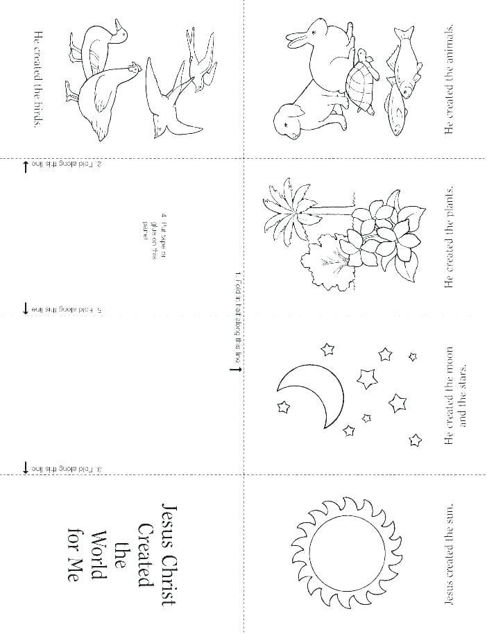 creation coloring pages free for preschoolers toddlers