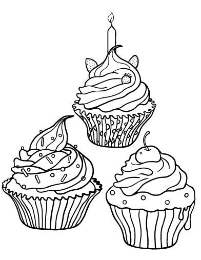 cupcake coloring pages zentangle cupcake coloring pages