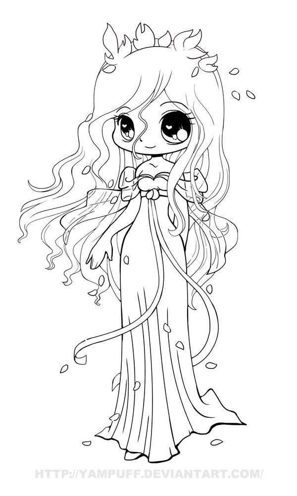 cute anime coloring pages part 7 anime chibi girl coloring
