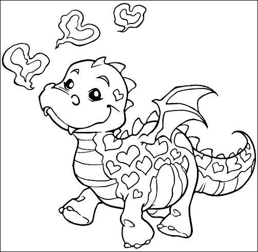 cute ba dragon coloring page beautiful stock cute ba
