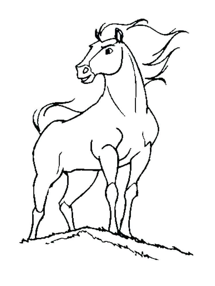 cute horse coloring pages cartoon gtausaxyz