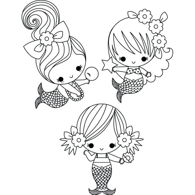 cute mermaid coloring pages siirthaber