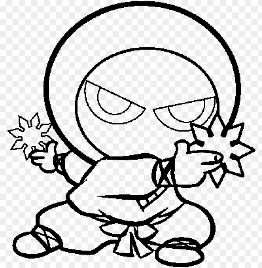 cute ninja k cute ninja coloring pages png image with