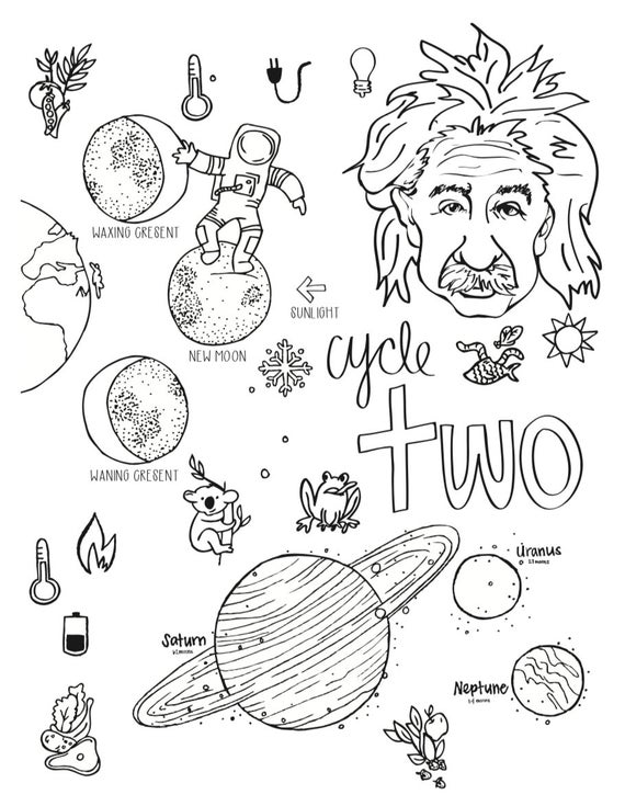 cycle 2 science coloring pages 5th edition
