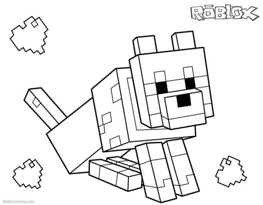 Roblox Girl Avatar Coloring Pages