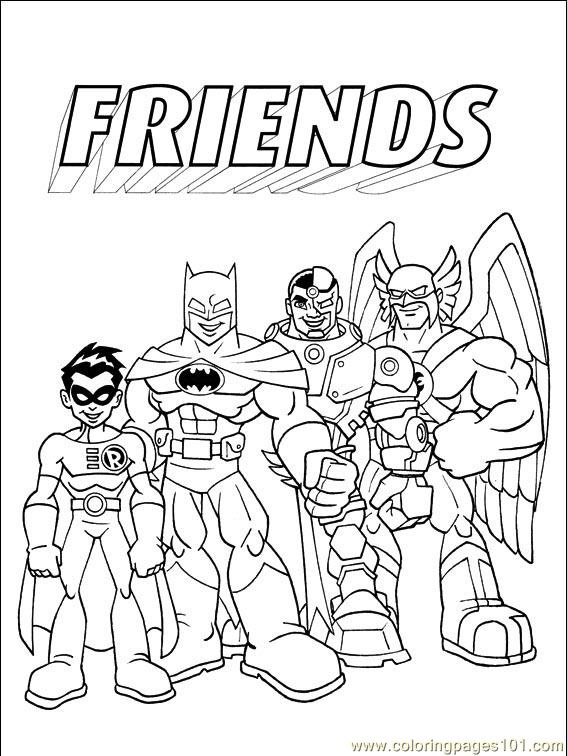 dc comics 009 1 coloring page free others coloring pages
