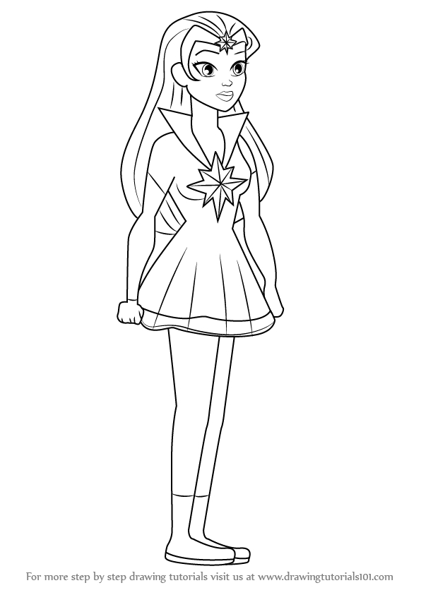 dc superhero girls coloring pages star sapphire collection