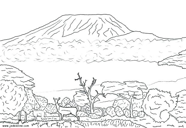 desert coloring pages for kids at getdrawings free for