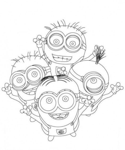 despicable me coloring pages minions malvorlagen fr