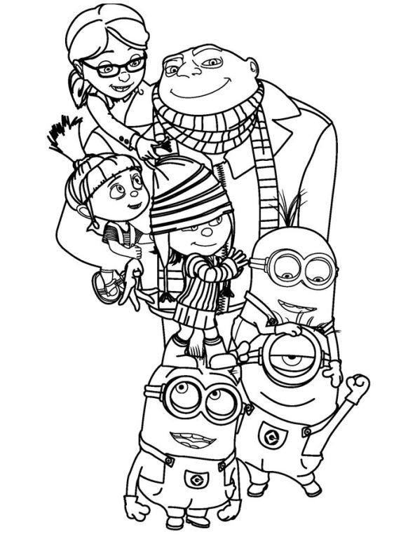 despicable me coloring pages uwcoalition
