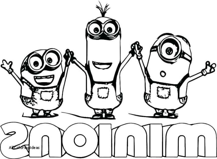 despicable me minion coloring pages minions colouring