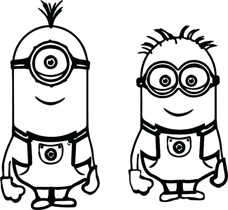 despicable minions coloring pages dopravnisystem