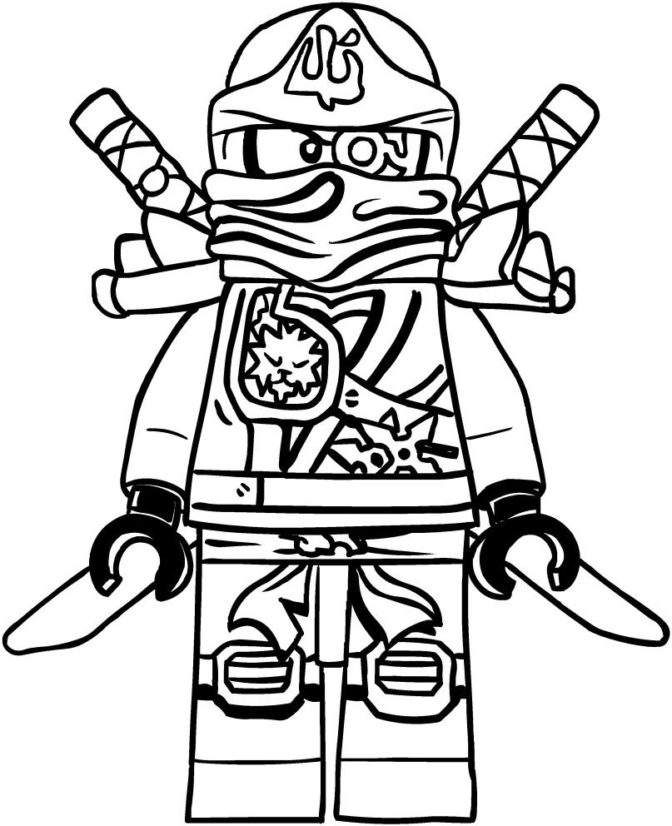 dessin lego ninjago kai