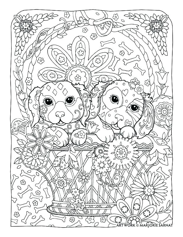 detailed coloring pages for adults printable intricate page