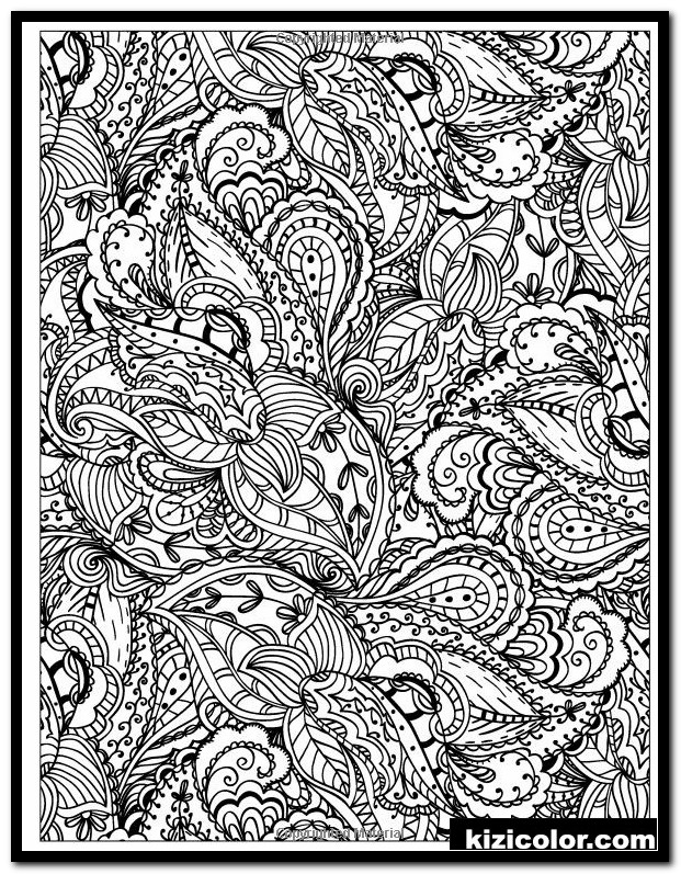 detailed pattern coloring pages 1 kizi free coloring