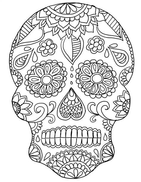 dia de los muertos coloring pages coloring pages for