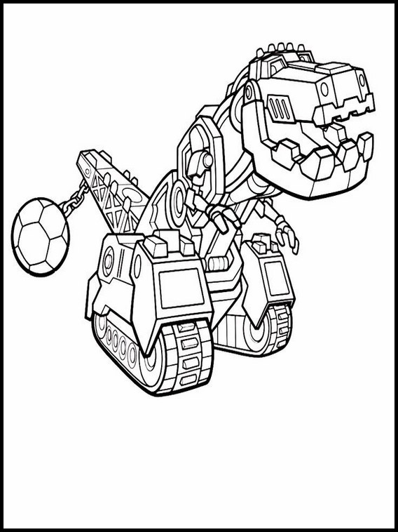 dinotrux coloring pages 1