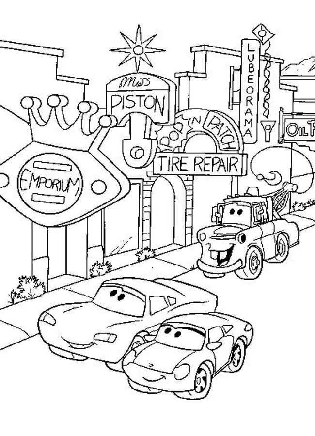 disney cars printable coloring pages coloring pictures of