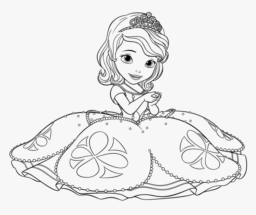 disney junior coloring pages sofia the first princesa