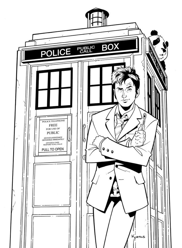 doctor who coloring pages printable coloring pages of