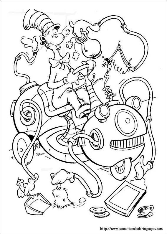 dr seuss coloring pages celebrate dr seusss imagination