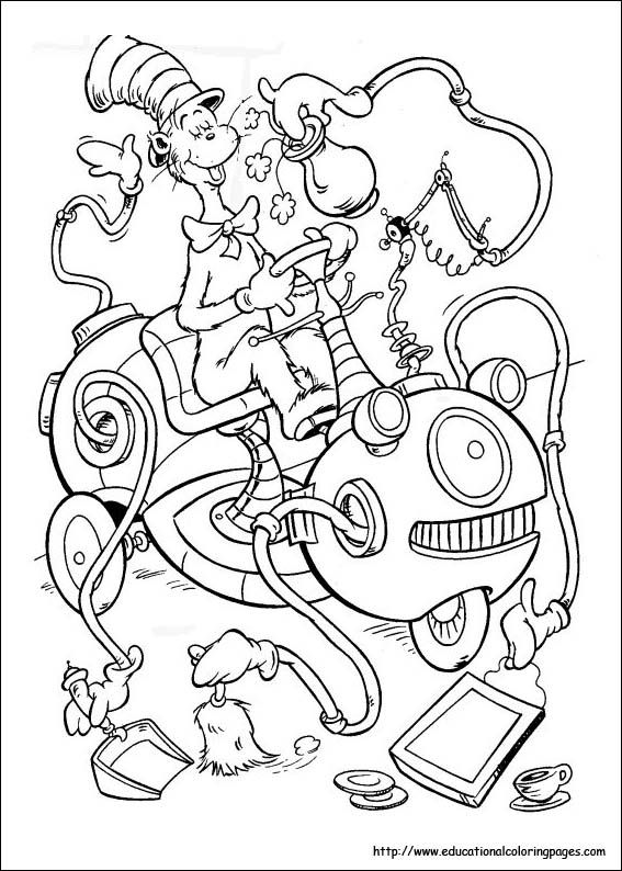 dr seuss coloring pages celebrate dr seusss imagination