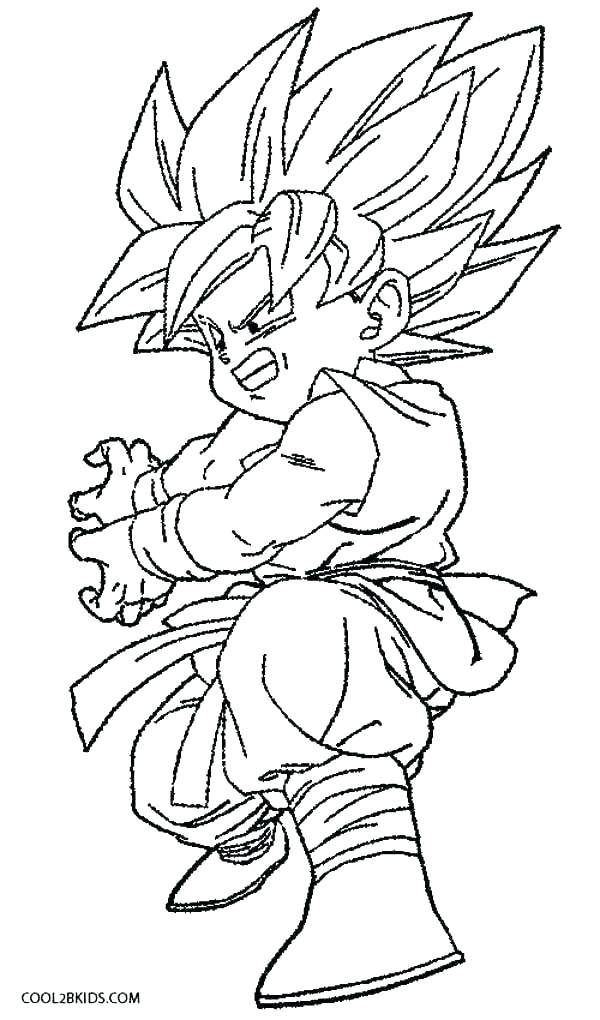 dragon ball z coloring pages games at getdrawings free