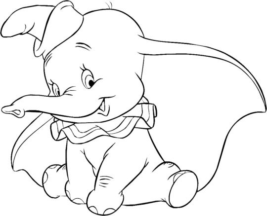 dumbo coloring pages for kids disney coloring pages