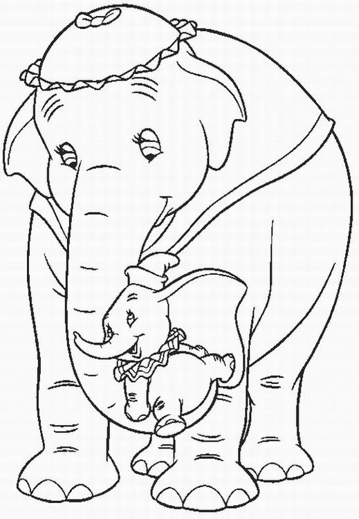 dumbo coloring pages learn to coloring