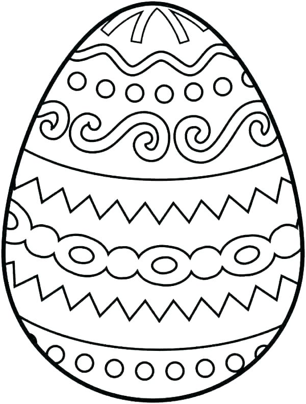 easter egg coloring pages sheets printable of eggs ainoumi