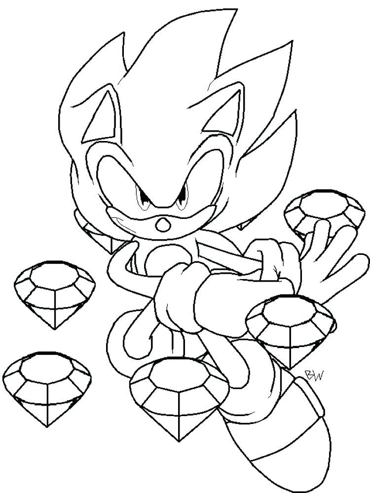 easy sonic coloring pages ideas printable coloring pages