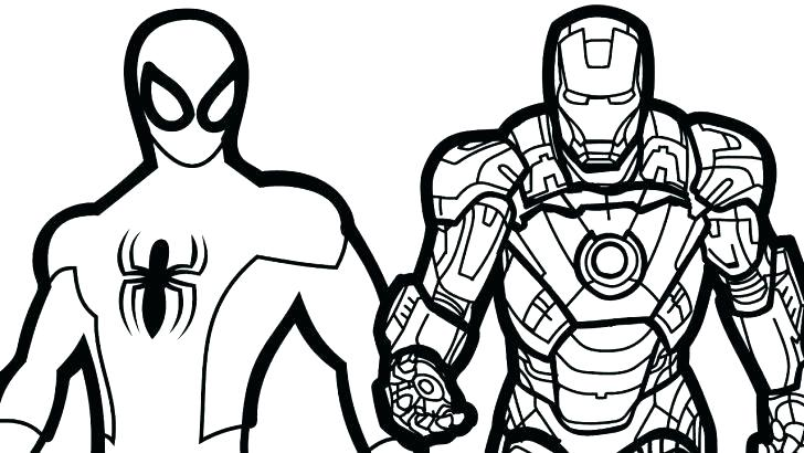 easy spiderman coloring pages at getdrawings free for