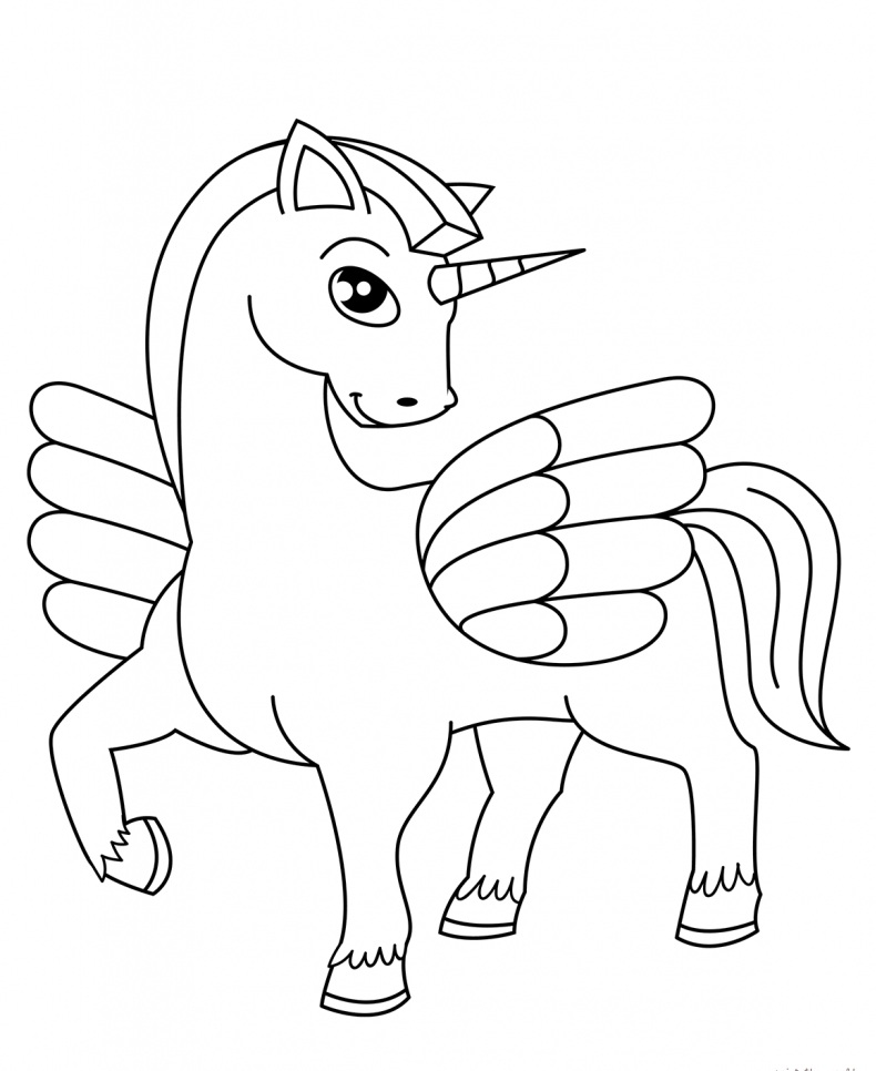 Unicorn Coloring Pages Printable Gallery - Whitesbelfast.com