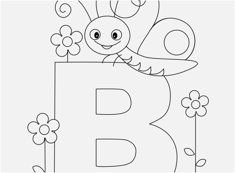 educational coloring pages for preschoolers pics letter b