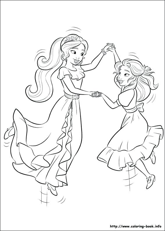 elena coloring pages at getdrawings free for personal