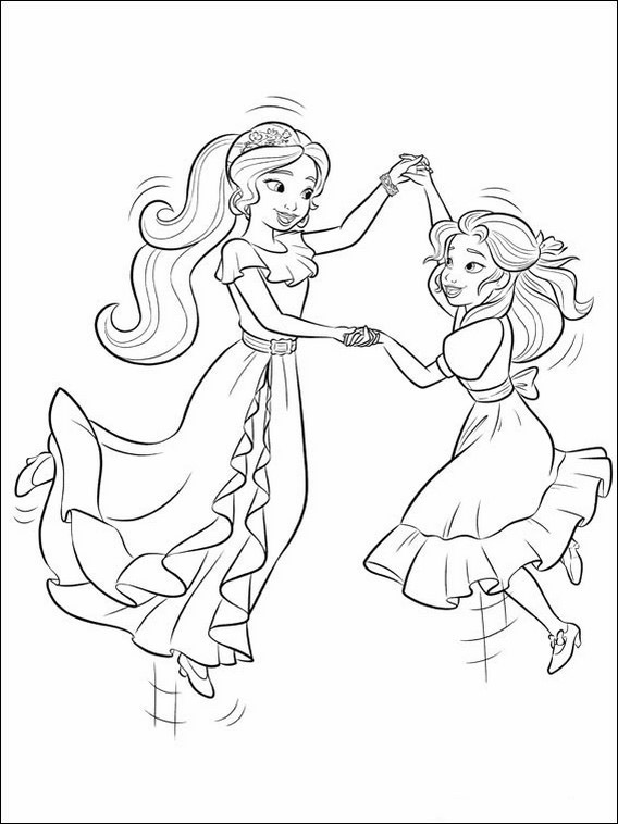 elena of avalor printable coloring pages 11