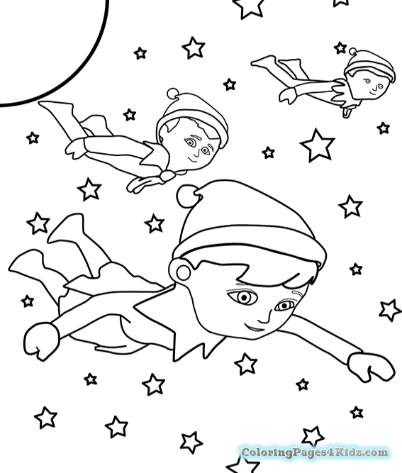 - Elf On The Shelf Coloring Pages Ideas - Whitesbelfast