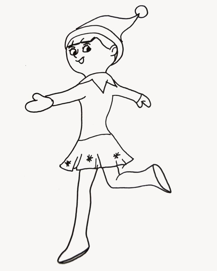 elf on the shelf coloring pages inspiring christmas
