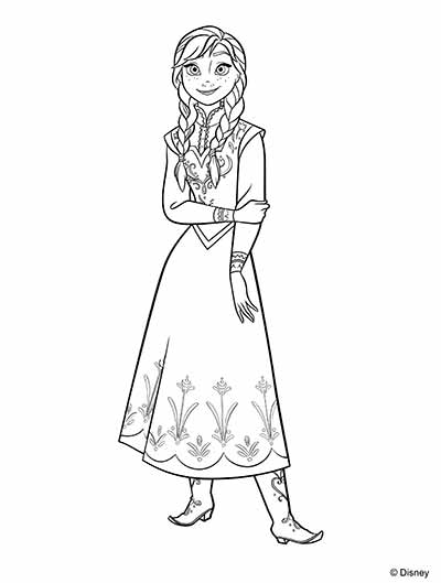 elsa full body coloring pages elsa full body coloring pages