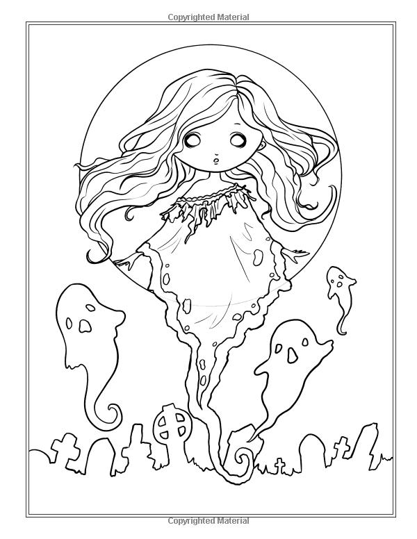 faedorables cute and creepy coloring book fantasy