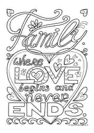 family love coloring pages family colouring pages pages love