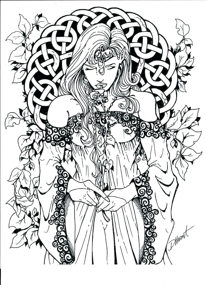 fantasy coloring pages for adults soidesign