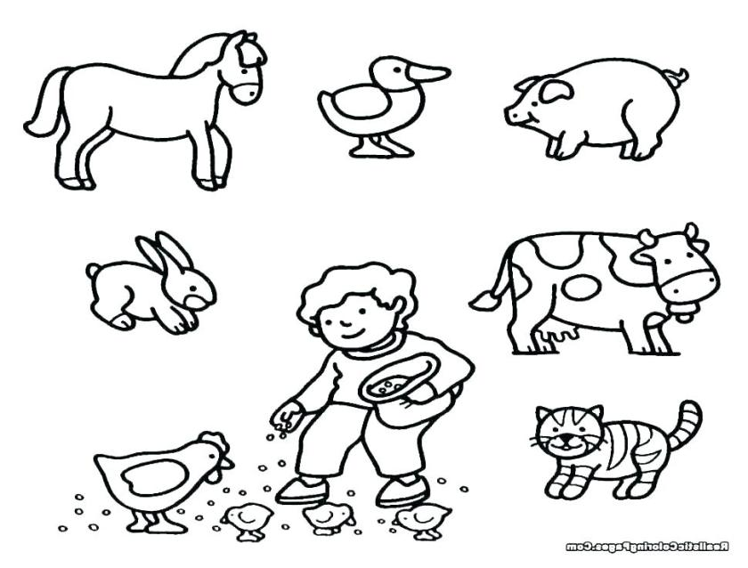 farm animal coloring sheets farm animals full size of farm