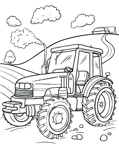 farm equipment coloring pages at getdrawings free for