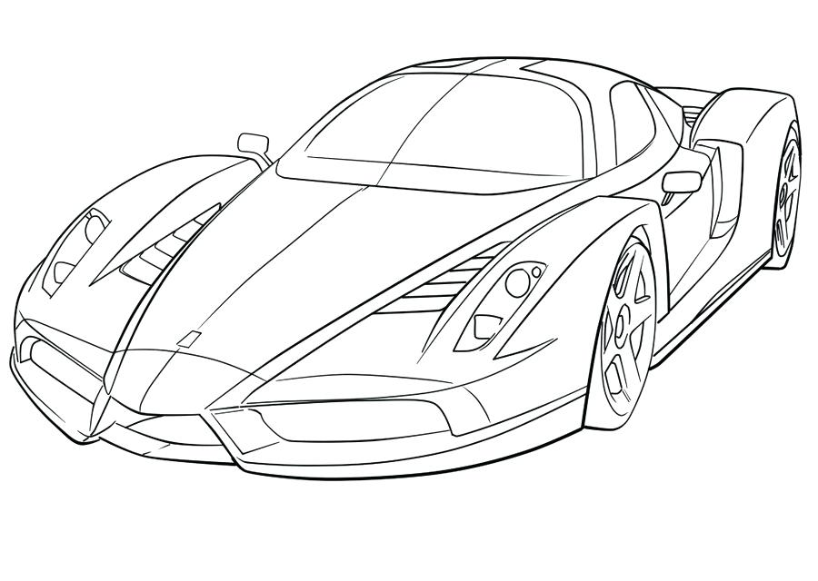 ferrari coloring pages at getdrawings free for