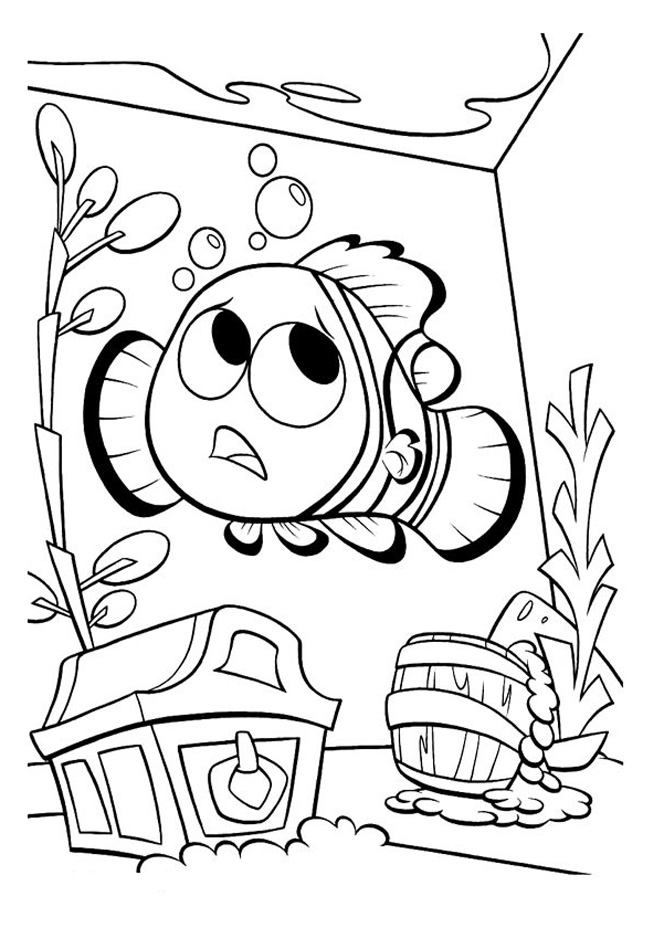 finding nemo to print finding nemo kids coloring pages