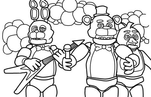 fnaf coloring pages fnaf foxy tumblr judes 5th