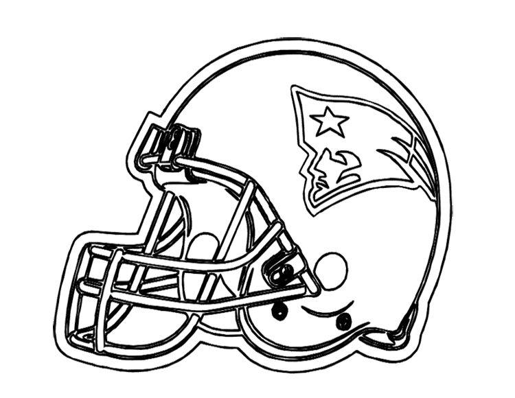 football helmet coloring pages football helmet patriots
