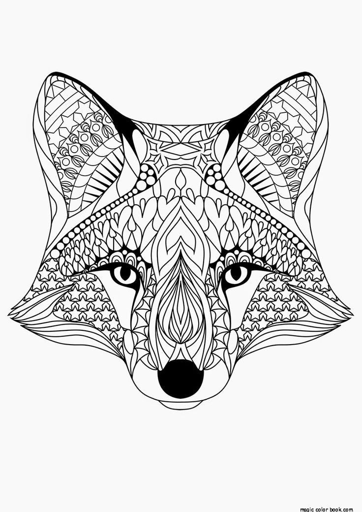 free animal mandala coloring pages free printable download