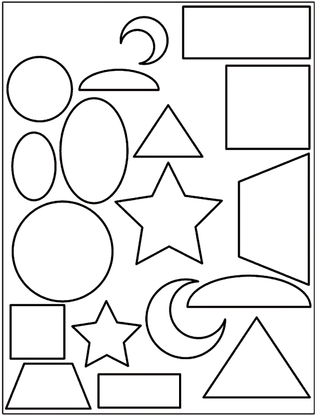 free basic shapes coloring pages download free clip art